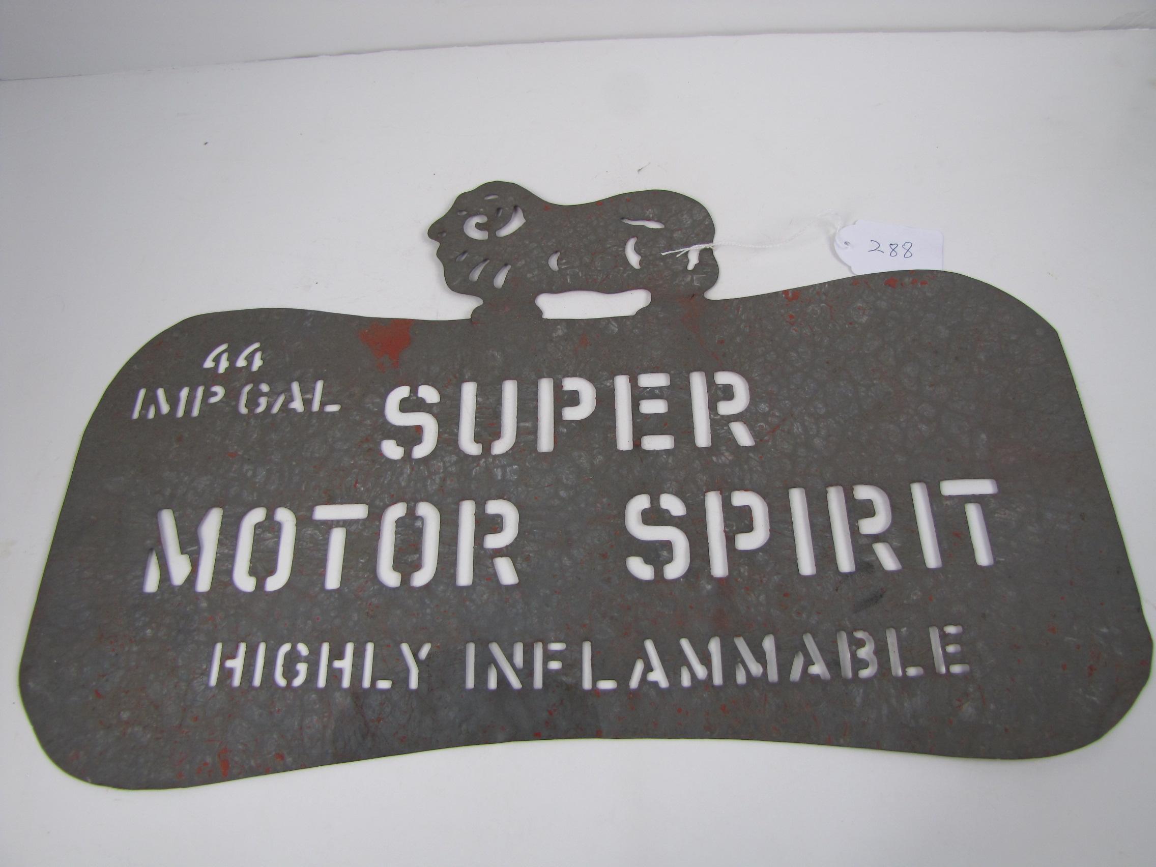 Drum Identification Stencil - Ram on Dogbone Super Motor Spirit 44